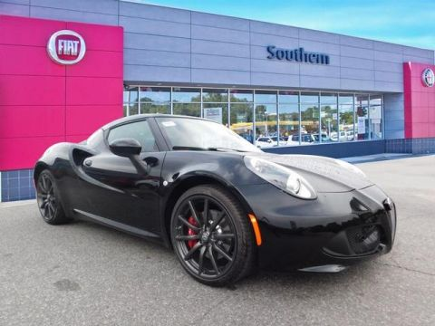 New 2018 Alfa Romeo 4C Coupe